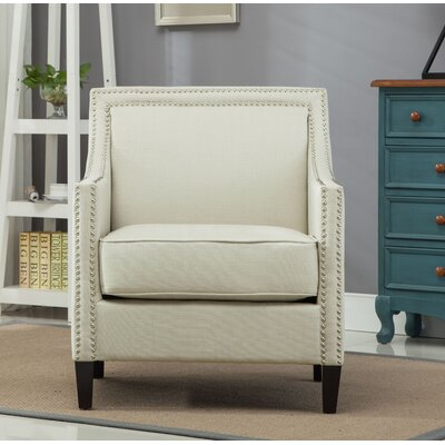 Turberville Club Chair Upholstery: Taupe