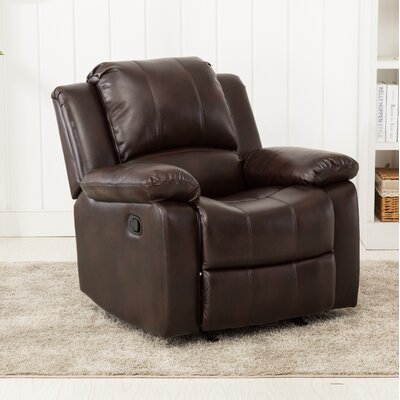 Daisy Manual Glider Recliner Color: Burnished Brown