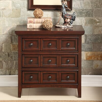 Princeton 3 Drawer Nightstand