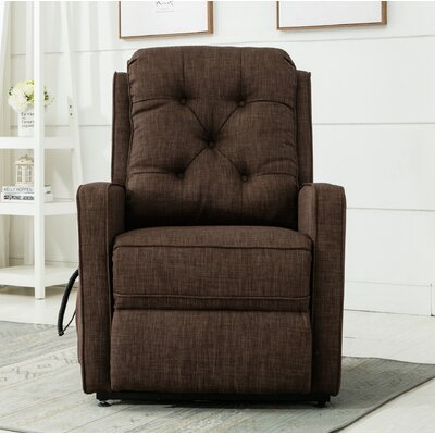 Paxton Power Lift Assist Recliner Color: Brown