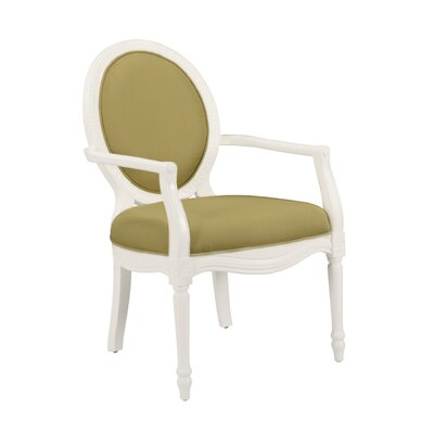 Addilyn Armchair Color: Cucumber
