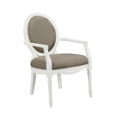 Addilyn Arm Chair Color: Taupe