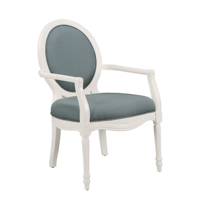 Addilyn Armchair Upholstery: Rain