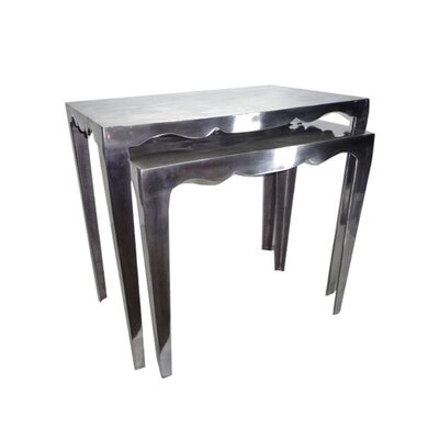 Forsberg 2 Piece Nesting Table Set
