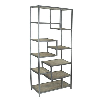 Bodhan Tall Etagere Bookcase 899 Image