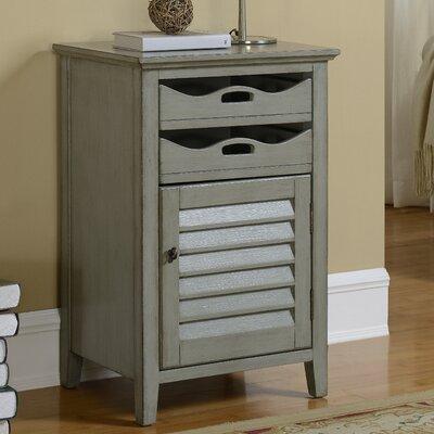 Magruder 1 Door 2 Drawer Cabinet Finish: Gray