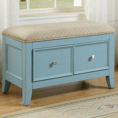 Major Bedroom Bench Color: Blue