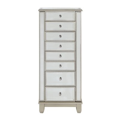 Portillo Free Standing Jewelry Armoire