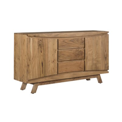 Harrill 3 Drawer 2 Door Credenza