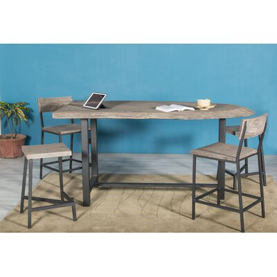 Farragut 2 Piece Counter Height Dining Table Set
