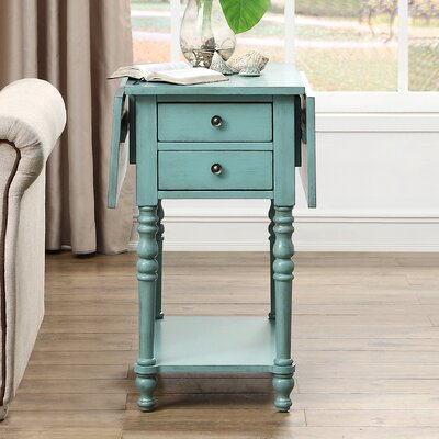 Jaune End Table Finish: Green