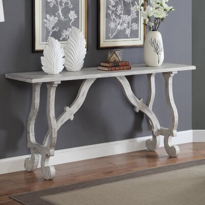 Winthrope Console Table Finish: White