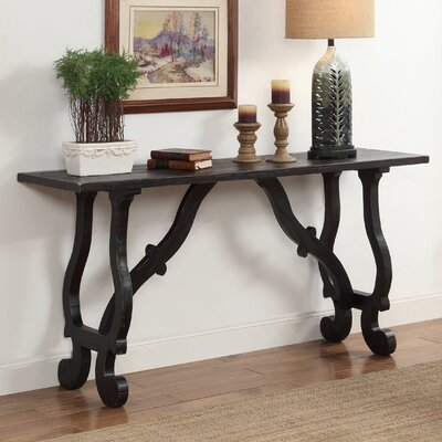 Winthrope Console Table Finish: Black