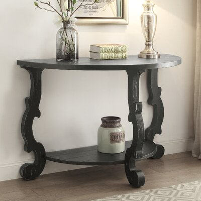 Cranston Console Table Finish: Black