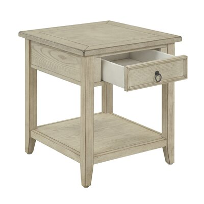 Stas 1 Drawer End Table with Storage