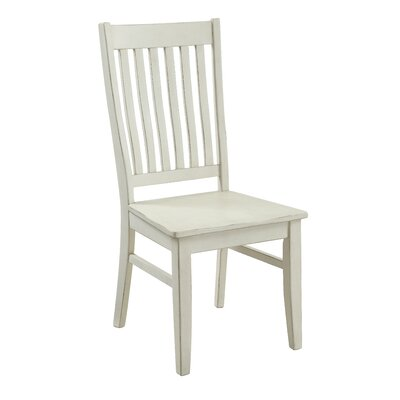 Vladya Side Chair Color: White