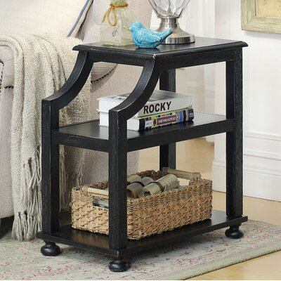 Tolya End Table Color: Lilith Black