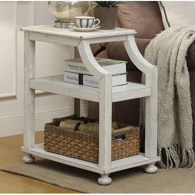 Tolya End Table Color: Lilith White