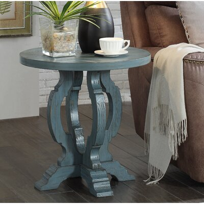 Nash End Table Color: Orchard Blue