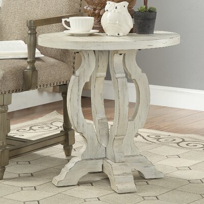Nash End Table Color: Orchard White