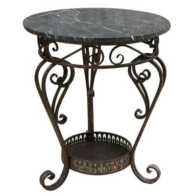 Easy financing Marble Top End Table...