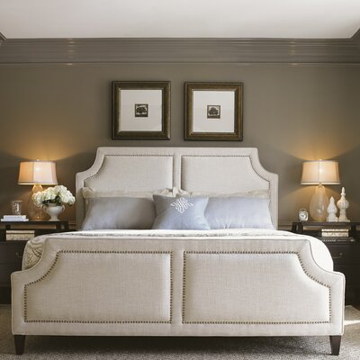 Kensington Place Upholstered Panel Bed Size: California King