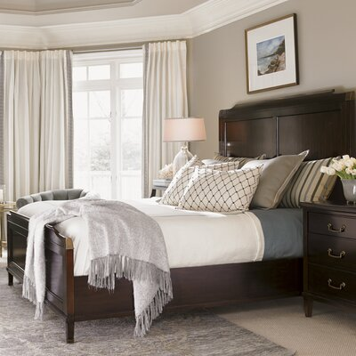 Kensington Place Panel Bed Size: King