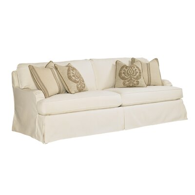 Coventry Hills Stowe Slipcover Sofa Upholstery: Cream