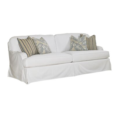 Coventry Hills Stowe Slipcover Sofa Upholstery: White