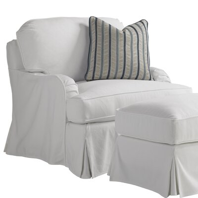 Coventry Hills Swivel Armchair Upholstery: White