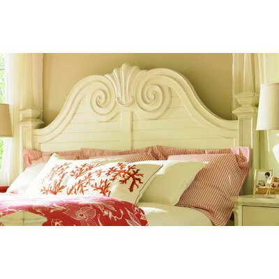 (headboards) Long Cove Southampton Panel Headboard and Frame Set in Shell