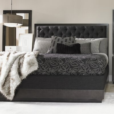 Carrera Upholstered Platform Bed Size: King
