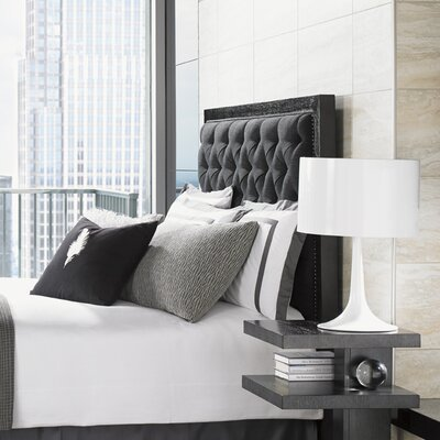 Carrera Upholstered Panel Headboard Size: California King