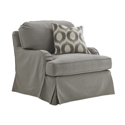 Oyster Bay Stowe Swivel Slipcover Armchair