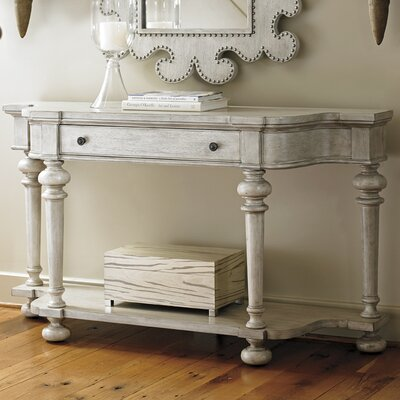 Oyster Bay Console Table Finish: Off White