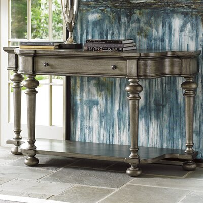 Oyster Bay Console Table Finish: Pelican Gray