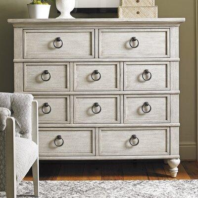 Oyster Bay Fall River 10 Drawer Standard Dresser