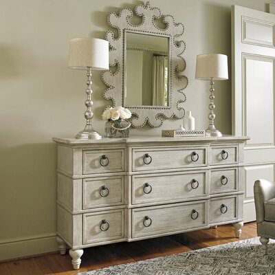 Oyster Bay 9 Drawer Dresser with Mirror