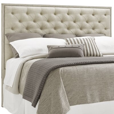 Oyster Bay Sag Harbor Tufted Upholstered Panel Headboard Size: King