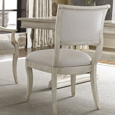 Oyster Bay Eastport Side Chair Side Chair Upholstery: Ivory
