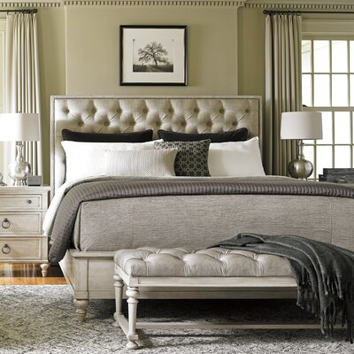 Oyster Bay Upholstered Panel Bed Size: King