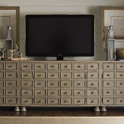 Twilight Bay Andrews 58 TV Stand Color: Distressed Textured Soft Taupe Gray
