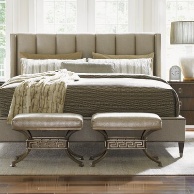 Tower Place Upholstered Panel Bed Size: King
