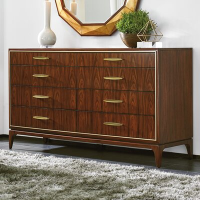 Take Five Capella 8 Drawer Double Dresser