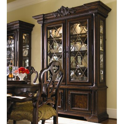 Cheap Lexington Brentwood China Cabinet in Rich Russet Brown (LTN1650)