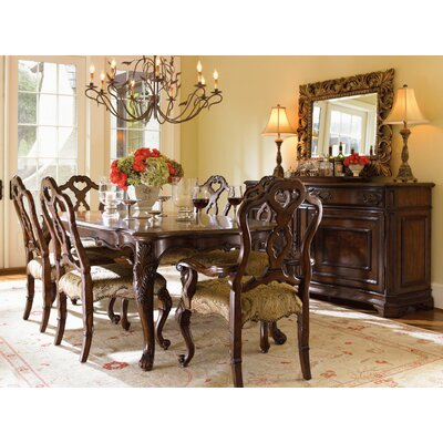 Lexington Dining Room Furniture On Lexington Granada 7 Piece Dining Table  Set In Rich Russet Brown
