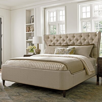 Macarthur Park Mulholland Upholstered Panel Bed Size: Queen