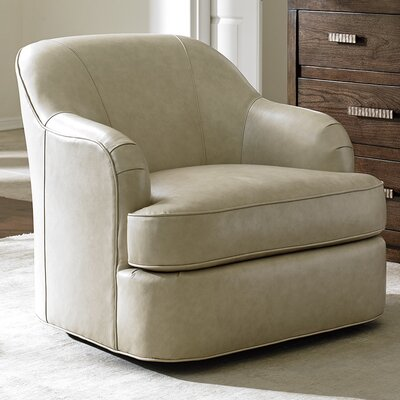 Laurel Canyon Alta Vista Leather Swivel Arm Chair