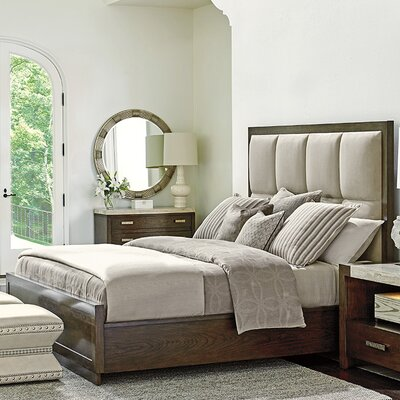 Laurel Canyon Upholstered Panel Bed Size: King