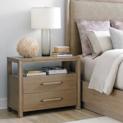 Shadow Play Curtain Call 2 Drawer Nightstand